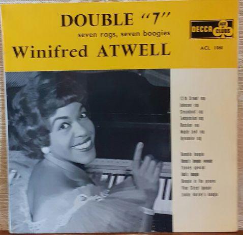 """Пластинка Winifred Atwell – Double """"7""""."""