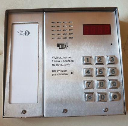 Domofon URMET MATIBIS SE MIWI 1052/101D-RF + zasilacz