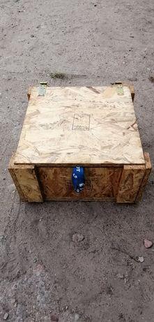 Skrzynka drewniana 40x40x21