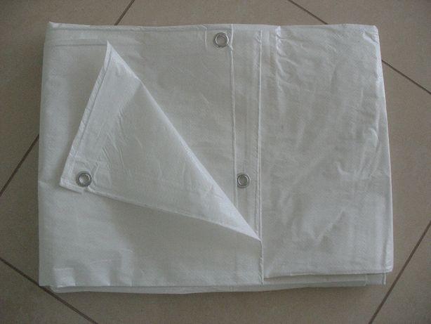 Plandeka 6x10 biała, plandeki w różnych rozmiarach