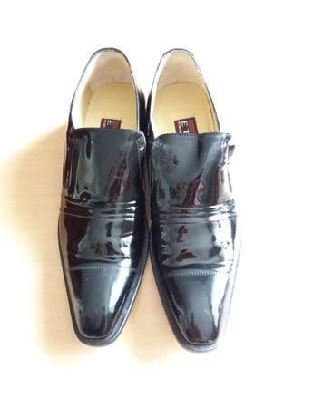 Чоловічі туфлі лакові (ETOR)