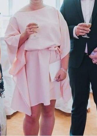 Sukienka lososiowa
