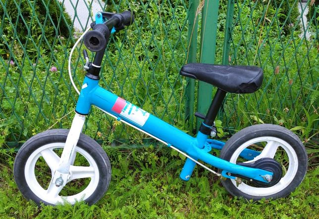 Rowerek biegowy BTwin z decathlona z hamulcem