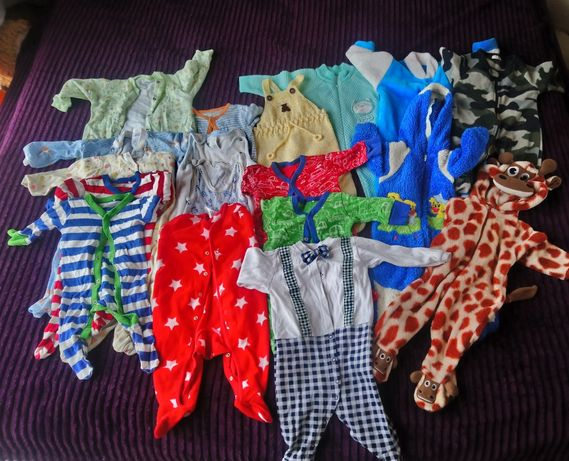 Пакет одежды для мальчика3-9 месяца+подарок