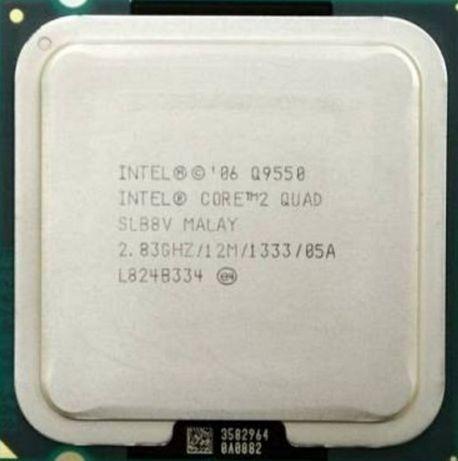 Процессор Intel Core2 Quad Q9500 Q9550с.775с1156с.1155с.1150ам3+фм12