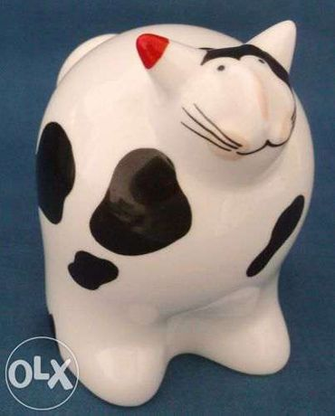 Gato de porcelana da Villeroy & Boch, serie Animal Park