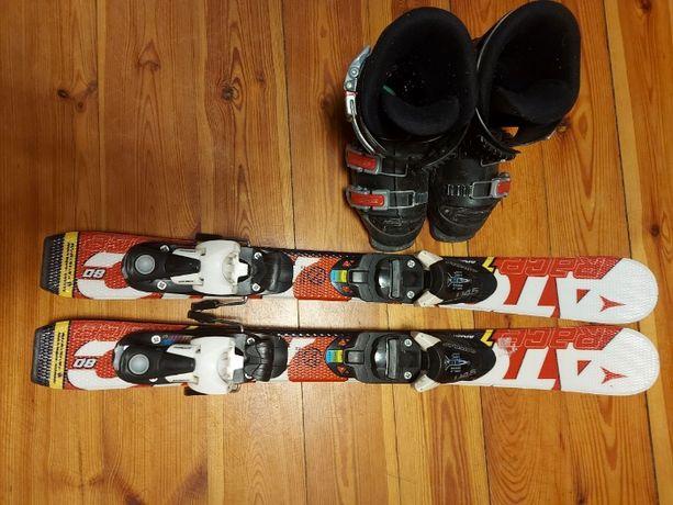 Zestaw narciarski dla dziecka 80cm