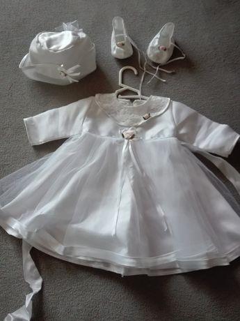 ubranka do chrztu dziewczynka 62 rozmiar