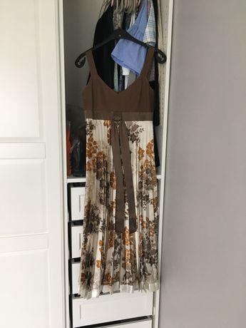 Sukienka plisowana Simple 34