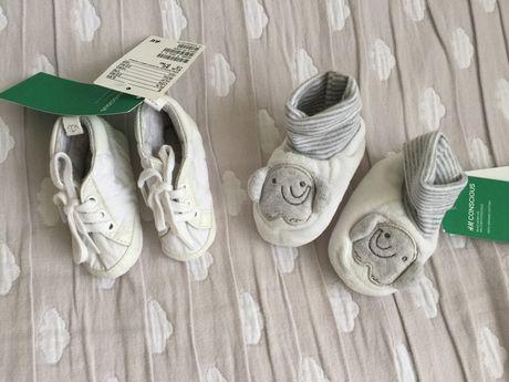 Пинетки H&M для малышей новые