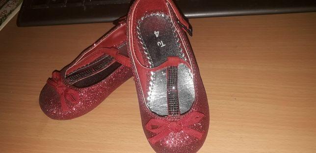 Нарядные новогодние туфельки, туфли на девочку