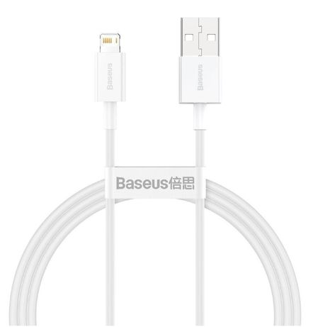 Кабель Baseus Superior Series Fast Charging Lightning 2.4A (1m) White