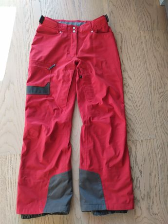 Spodnie salomon górskie/narciarskie czerwone