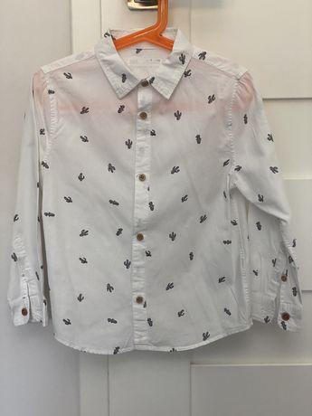 Koszula z dlugim rekawem Zara rozmiar 6 lat 116 cm