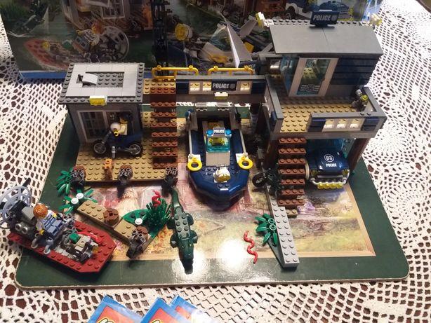 LEGO 60069 City - posterunek policji z bagien, kompletny, pudełko