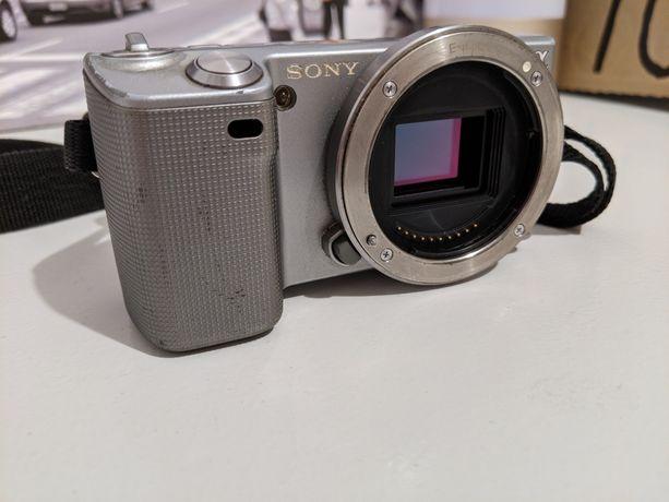 Aparat Sony NEX 5 bezlusterkowiec Sony e ASPC