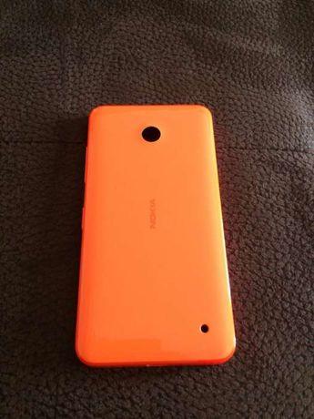 Nokia Lumia 630 capa laranja
