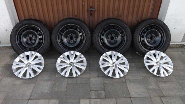 Koła zimowe stalowe Audi Vw Seat Skoda 5x112 5Q0 6Jx16 ET48 205/55/16