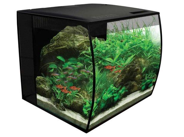 Markowe akwarium Fluval 34L pokrywa + oświetlenie + filtr