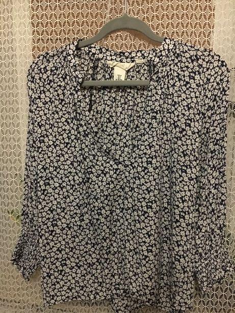 Koszula w kwiaty H & M rozmiar 40