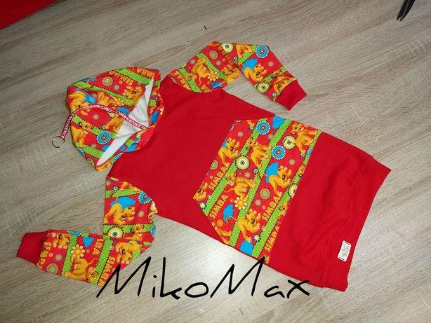 MikoMax bluzo- sukienka 80-122