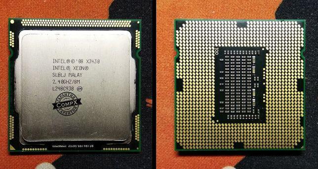 s1156 процессоры Intel Xeon X3430, X3450, X3460 (i7,680,860) ПК/PC