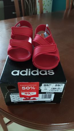 Sandały Adidas rozmiar 25