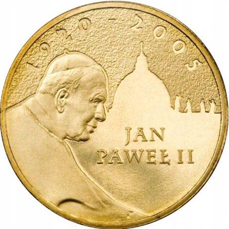 Monety jan Paweł II 2005