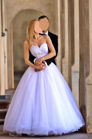Suknia ślubna na szczupłą dziewczynę