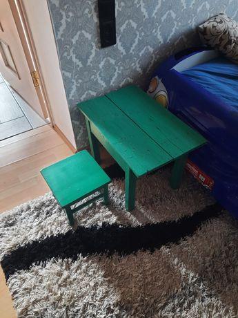 Стол столик стул стульчик детский советский