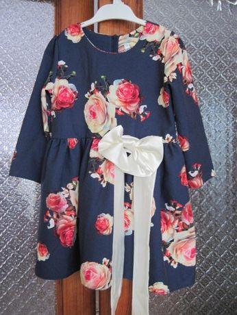 Красивое платье на девочку рост 104