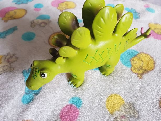 Zabawka Dinozaur gumowy figurka Dino