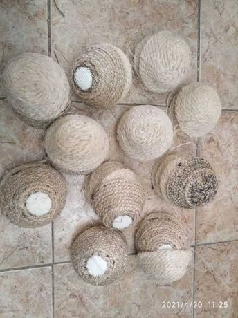 vendo ninhos de pvc e de corda