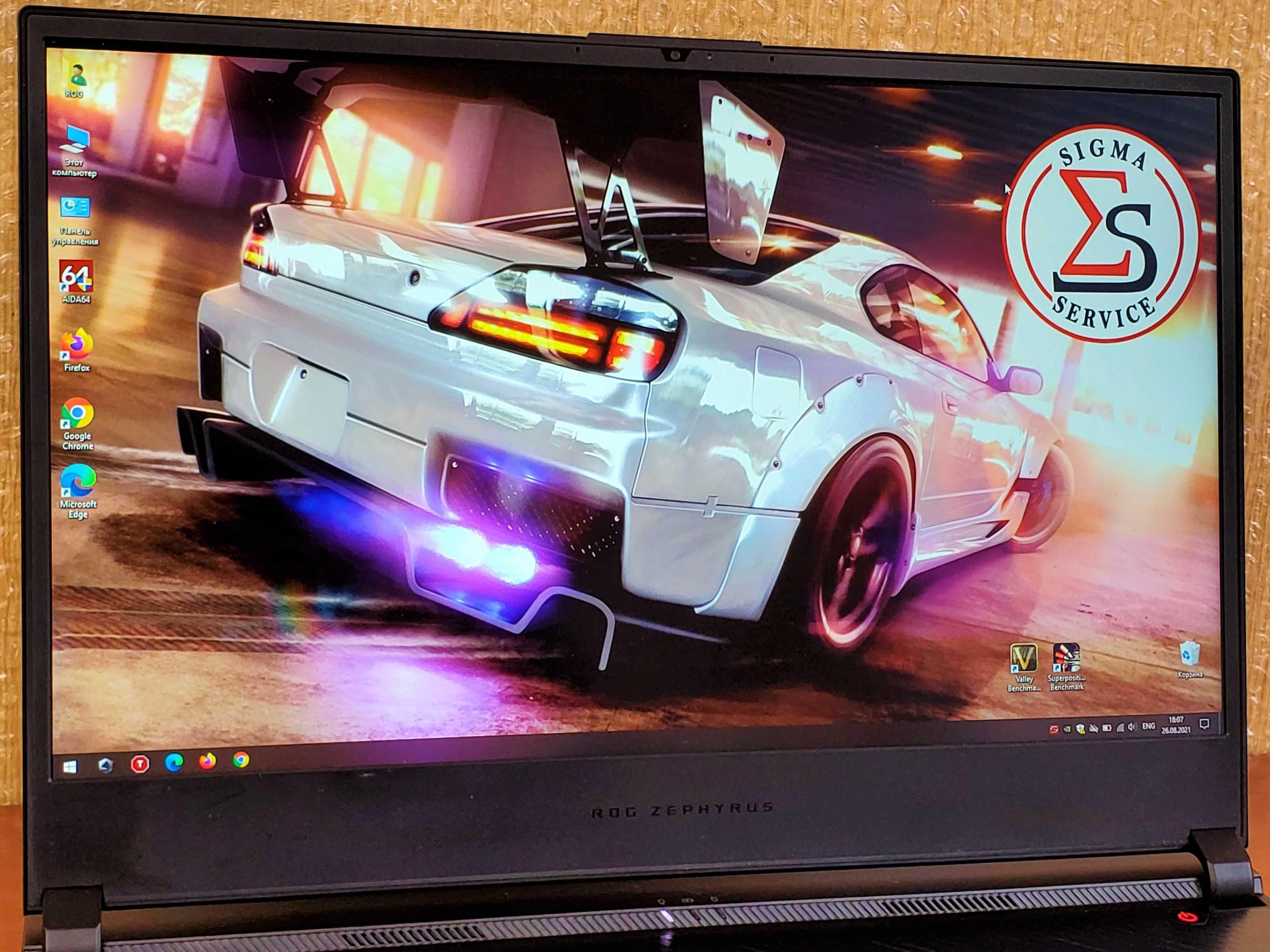 ASUS ROG Zephyrus GX531GX. Топовый, серьёзный игровой ноутбук. Из США