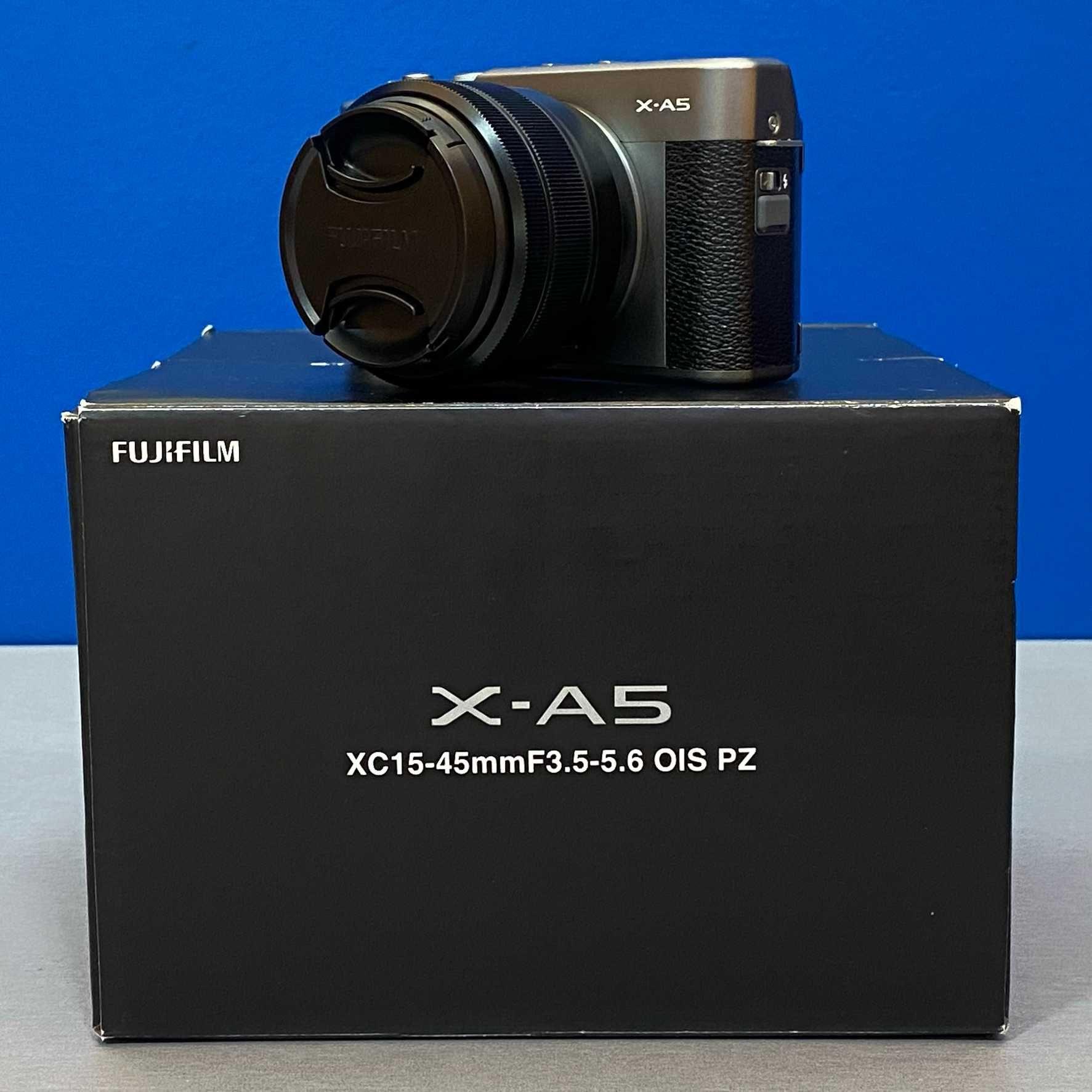 Fujifilm X-A5 (24.2MP) + XC 15-45mm f/3.5-5.6 OIS PZ