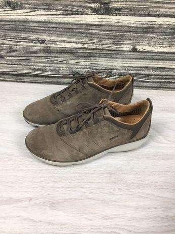 Фирменные оригинальные кроссовки Geox Respiria ecco кожаные 43