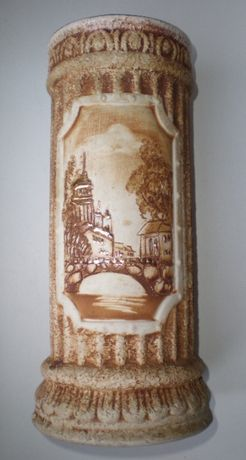 Ваза Колонна, керамика, позолота, СССР