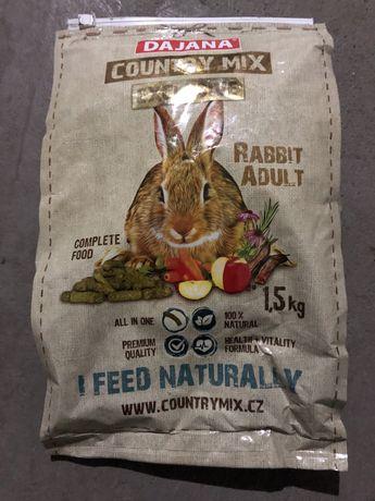 Корм для декоративных кроликов Dajana Country mix EXCLUSIVE Adult