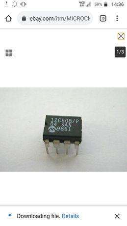 12c508 прошитый для Пс 1