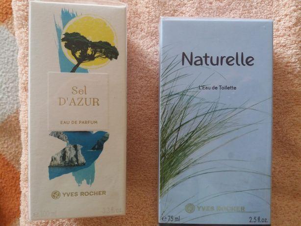 Yves Rosher Ив Роше Туалетная вода Sel d'Azur 100 мг и Naturelle 75мг