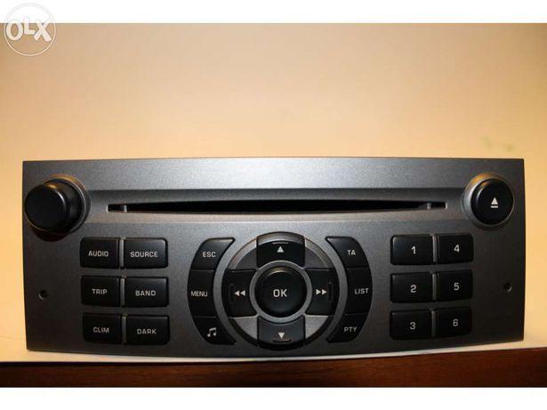 Rádio RD4 para Peugeot 407