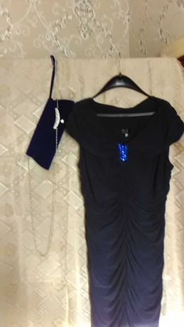 Платье и сумочка вечерние