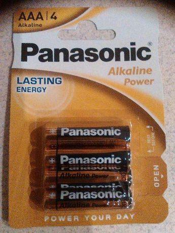 Baterie Panasonic AA LR06, AAA LR03, x4 sztuki ALKALICZNE! NOWE !!