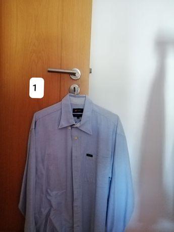 Camisa de homem usada