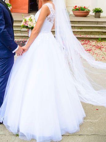 Suknia ślubna księżniczka Adria model 1708