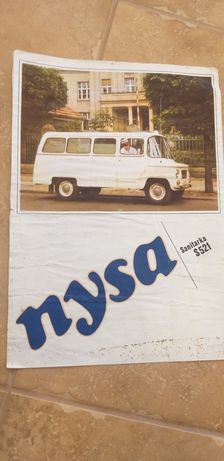 Prospekt folder Nysa S521 sanitarka
