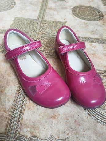 Детские туфли светящиеся clarks