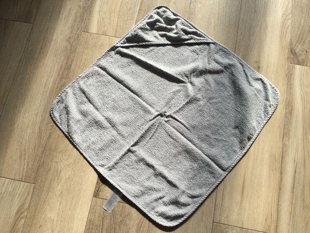 Szary ręcznik z Lidla wymiary 75*75