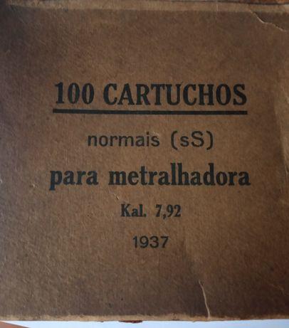 1937 - caixa de munições de metralhadora