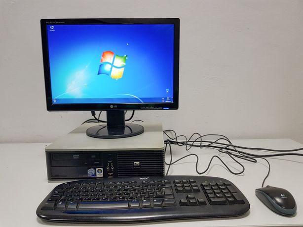 Zestaw komputerowy | Komputer + monitor | Do nauki | stacjonarny